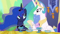 Princess Celestia --There's usually some crisis we have to deal with-- S6E5