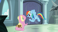 """Rainbow """"warn her about what's going on"""" S9E21"""