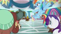 "Rainbow Dash ""don't be so surprised"" S9E7"
