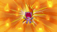 Rainbow Dash blazing with anger PLS1E2a