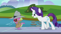 """Rarity """"I wonder if you wouldn't mind"""" S8E11"""