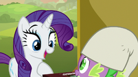 """Rarity """"for you to teach me the game"""" S9E19"""