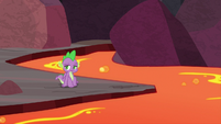 Spike left all by himself S9E9