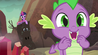 Spike super-excited S6E5