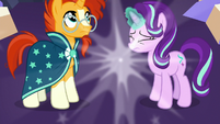 Starlight and Sunburst's bodies return to normal S7E24