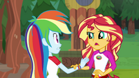 """Sunset Shimmer """"I know you're excited"""" EG4"""