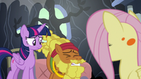 Cattail shuddering with disgust S7E20