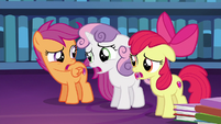 "Cutie Mark Crusaders discouraged ""right..."" S6E19"