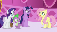 """Fluttershy """"How was your book-sort-cation?"""" S5E22"""