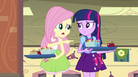 """Fluttershy """"vote for you instead of her"""" EG"""
