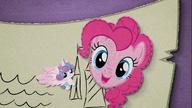 MAFH 10 Canterlot otoczony zdjęciem głowy Pinkie