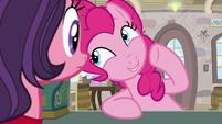 """Pinkie Pie """"tippy-top super-duper secret"""" S8E3"""