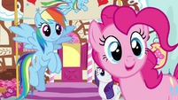 """Pinkie Pie """"who are you, stranger?"""" S4E12"""