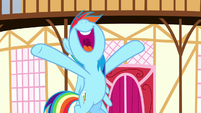 """Rainbow """"get the whole town involved"""" S8E18"""