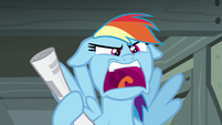 """Rainbow Dash """"that doesn't explain anything!"""" S7E18"""