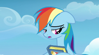 Rainbow Dash sighing heavily S7E7