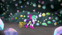 Rarity continues further into the cave S8E17