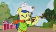 S03E08 Fiddly Faddle gra na skrzypcach