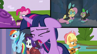 Twilight worries about the whole operation S9E4