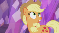 Applejack -the pony who finds this rock- S5E20
