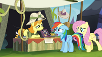 """Daring Do collector """"that's not worth anything to me"""" S4E22"""