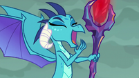 Dragon Lord Ember laughing S6E5
