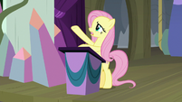 """Fluttershy """"covered in darkness"""" S8E7"""