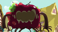 Giant apple monster waxing poetic S9E23