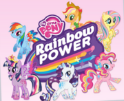 MLP Rainbow Power logo and Mane 6.png