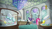 Pinkie, Maud, and Rarity in a jewelry store S6E3.png