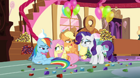Pinkie Pie's friends don't want more rock candy S4E18