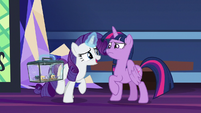 """Rarity """"you won't be traveling alone"""" S9E26"""