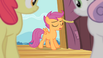 Scootaloo 'I'm gonna have to fly' S4E05