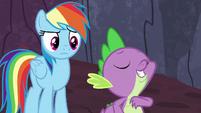 "Spike ""friendship ambassador to the dragons"" S7E25"