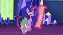 Spike --that's about it-- S6E22