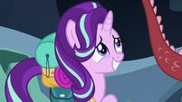 Starlight Glimmer with embarrassed pride S6E26