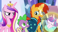 Sunburst --this changeling replaced your friend-- S6E16