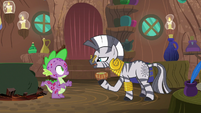 Zecora -the smell is the most likely cause- S8E11