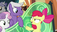 """Apple Bloom """"Applejack defeated the Storm King"""" S8E6"""