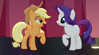 """Applejack """"such thing as being too honest"""" S7E14"""