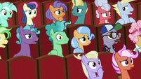Audience ponies in even more shock S8E5