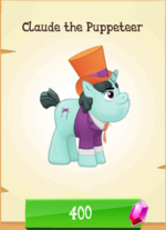 Claude the Puppeteer MLP Gameloft.png