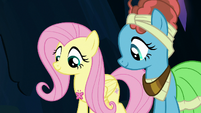 Element of kindness floats up to Fluttershy S7E26