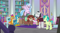 Neighsay addressing the Young Six S8E26