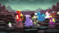Other dragons laughing S6E5