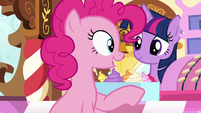 """Pinkie """"in my secret party planning cave!"""" S7E3"""