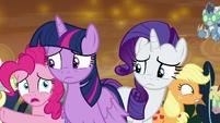"Pinkie Pie ""what do we do, Twilight?!"" S9E2"