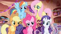 Pinkie and friends -she's so happy she's crying!- S1E01