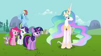 Princess Celestia -Fluttershy may know best- S03E10