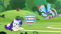 """Rainbow """"are you even paying attention?!"""" S8E17"""